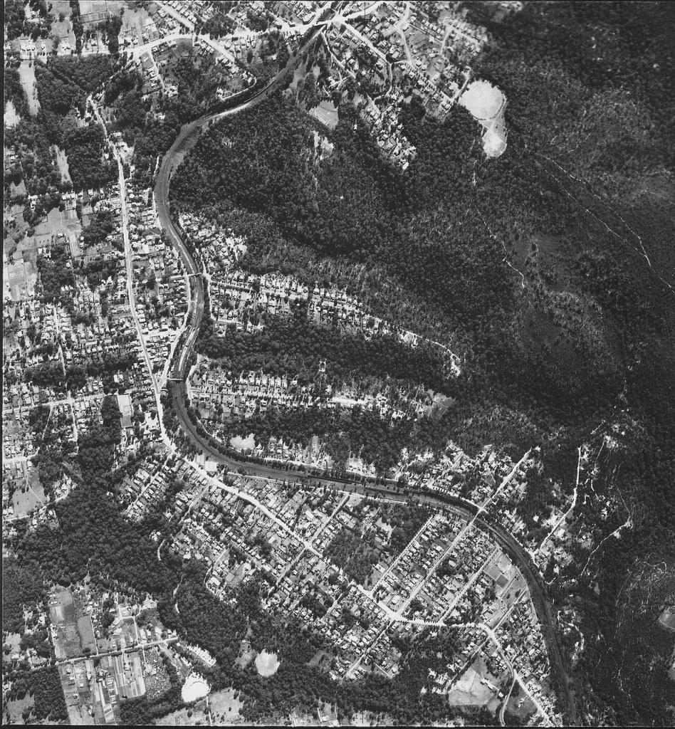 Pennant Hills, Beecroft & Cheltenham 1953 - Sydney airphoto