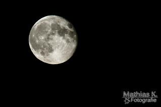 Mond vom 1.Oktober.2012