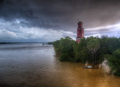 French Colonial Watchtower - Kampong Cham, Cambodia