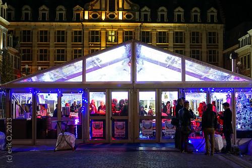 Opening Schaatsbaan Oude Markt Leuven | by erik O,