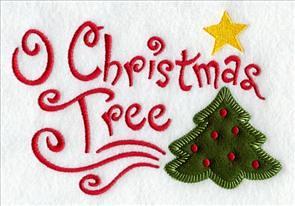 O Christmas Tree (Heirloom Applique)