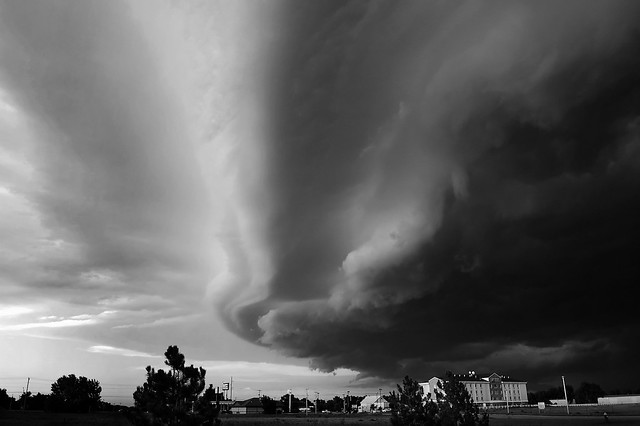 062409 - Ominous Outflow!!! B&W *Explored*