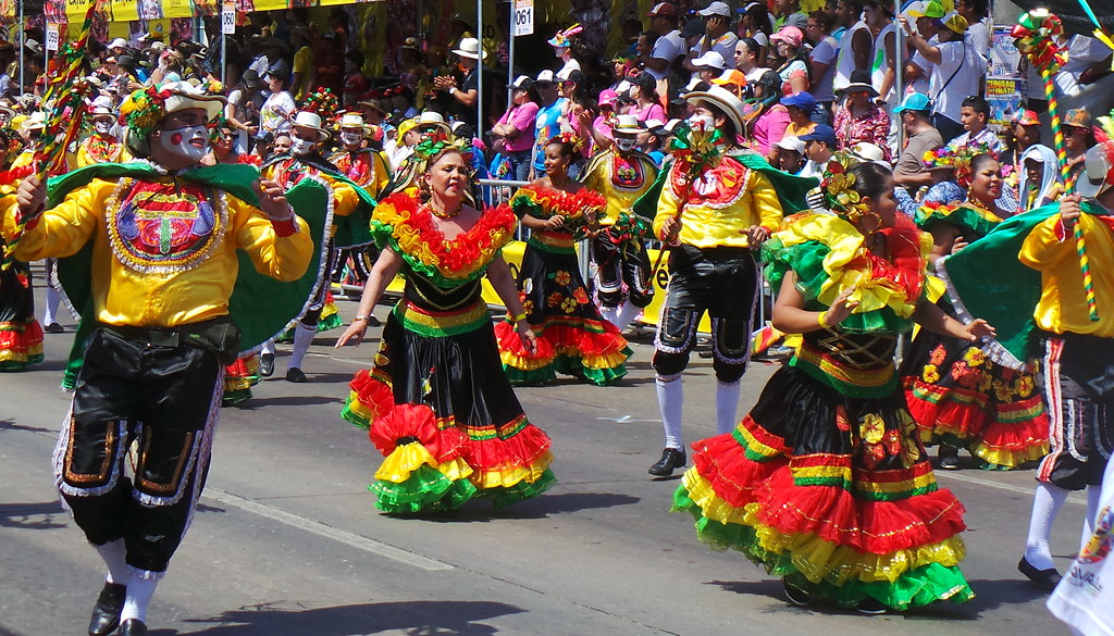Second largest festival in the world, Barranquilla Carnival. Source: Flickr