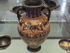 Aithiopis XVI – Image from a Tyrrhenian Amphora - Side B)