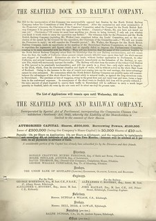 Seafield Dock & Railway P 1883   by ian.dinmore
