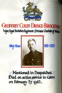 Drake-Brockman, Geoffrey Colin (1905-1942) | by sherborneschoolarchives
