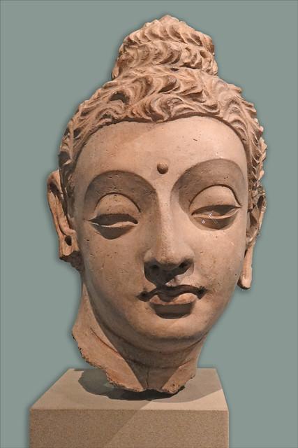 Tête du Bouddha (V&A Museum)
