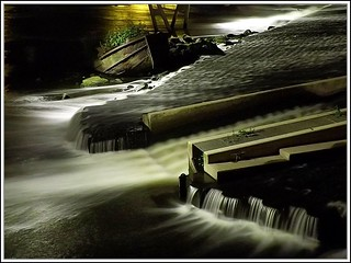 Boat and Weir