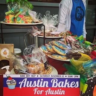 #austinbakes at Whole Foods Lamar!