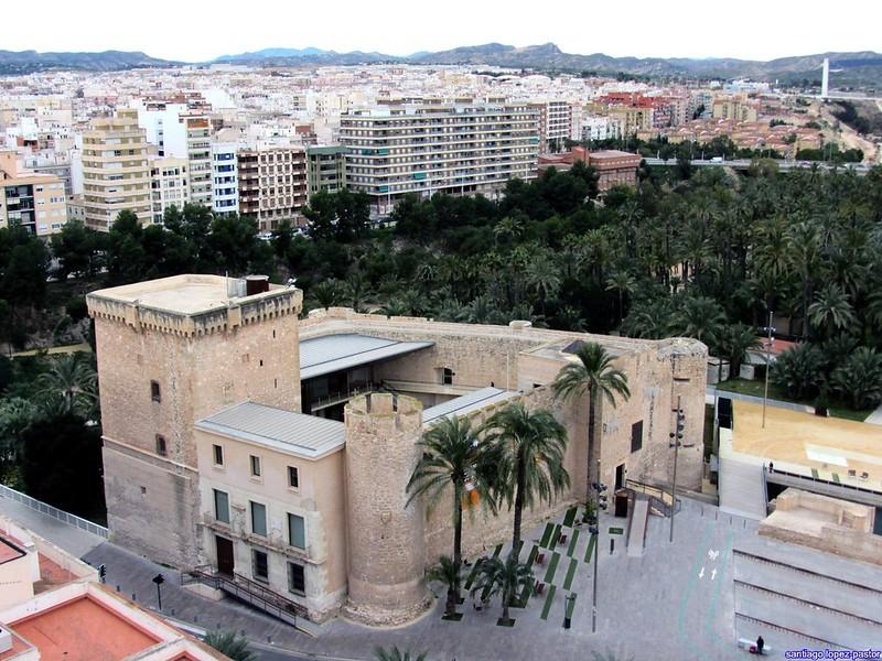 Castillo de Elche-Palacio de Altamira