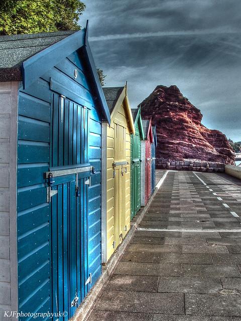 Beach Huts, Dawlish, Devon