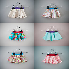 Little Baby Circle Skirt x6!
