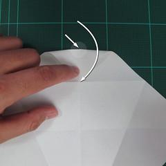 วิธีพับกระดาษเป็นรูปปลาแซลม่อน (Origami Salmon) 007