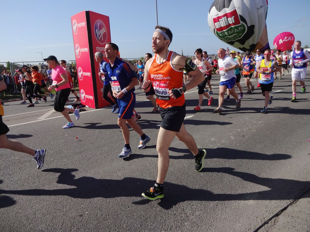 London Marathon, Start