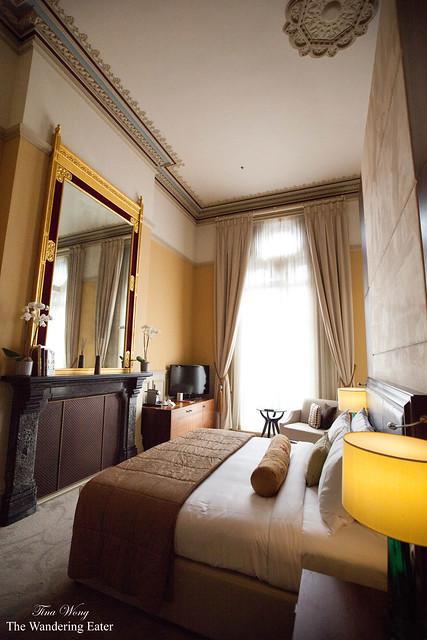 The bedroom of Sir George Gilbert Scott Suite