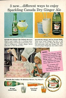 1958 Canada Dry Ginger Ale Advertisement Readers Digest August 1958