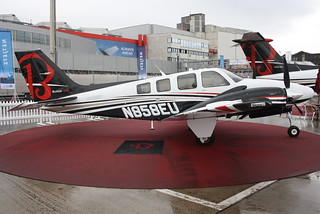 N858EU, Beechcraft G58 Baron (TH-2350)