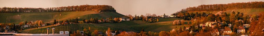 Heilbronn Panorama - 27015 x 3678 pixels (99.4 MP)