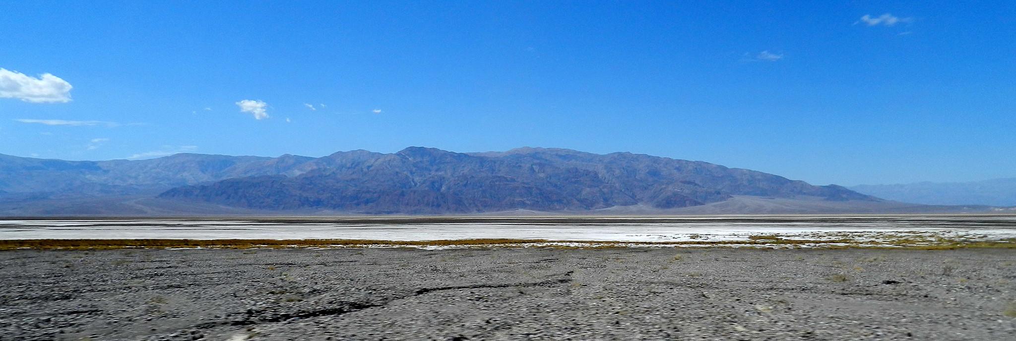 Vistas del Parque Nacional del Valle de la Muerte EEUU