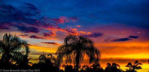 Epic sunset.