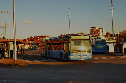 ZET 189 (ZG 2152 DV) on route 125 at Črnomerec, Zagreb - 29th December 2016   by Alex-397