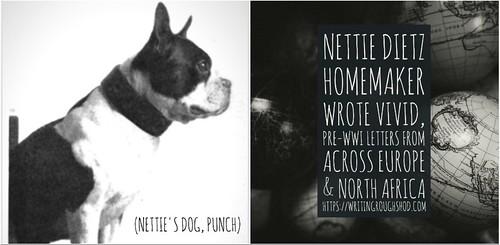 NETTIE DIETZ #100travelHERS | by sandrakaybee