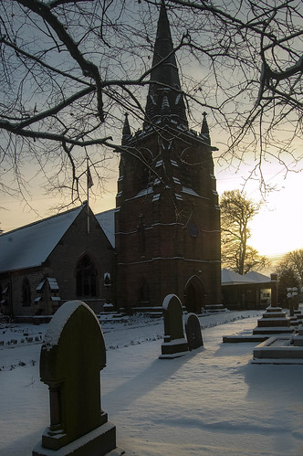 sunset architecture cathedralschurches religoussites winter historic snow