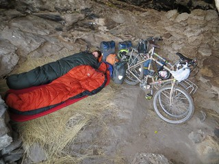We become troglodytes for the night | by Pikes On Bikes
