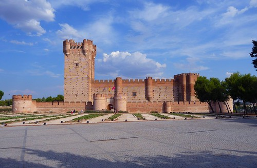 Castillo de la Mota - Medina del Campo (Valladolid, Sp)