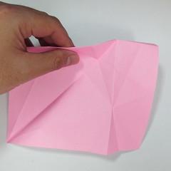 สอนการพับกระดาษเป็นลูกสุนัขชเนาเซอร์ (Origami Schnauzer Puppy) 017