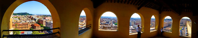 Pano: View of Rome from The Vatican