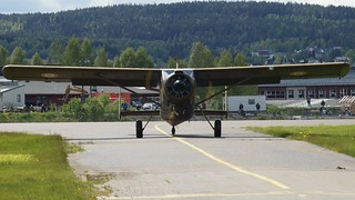 Max Holste MH-1521M Broussard at Kjeller Air Show 2015 | by J.Comstedt
