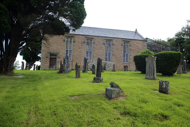 Disused church at Castle Stuart