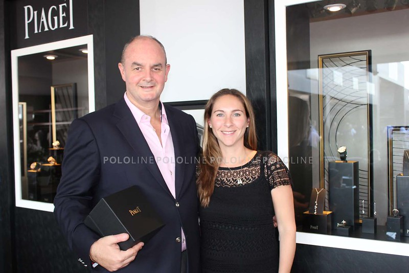 Alain Riguidel (Piaget Brazil) and Nicole Kramer-Axelrad (Piaget USA)