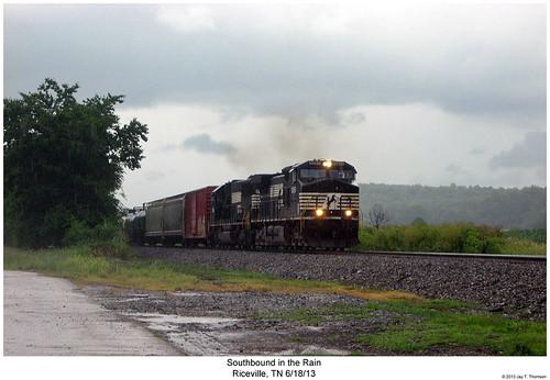 railroad train diesel ns tennessee railway trains locomotive trainengine ge norfolksouthern emd dash9 sd60 riceville c409w dash940cw sixaxle d409w