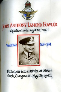 Fowler, John Anthony Lamond (1916-1942)   by sherborneschoolarchives