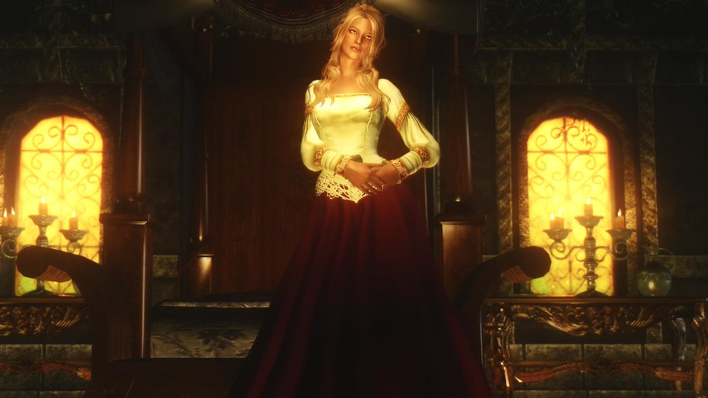Skyrim Wedding Dress.Noble Wedding Dress By Urshi Skyrim Nexusmods Com Mods 395 Flickr