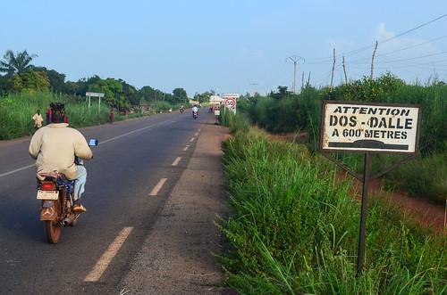 africa benin bicycle day351 ketou road sign freewheelycom cycletouring cyclotourisme velo cycling jbcyclingafrica