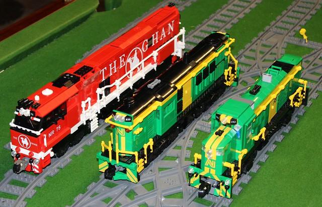 Ghan loco in LEGO!