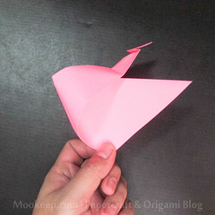 สอนวิธีการพับกระดาษเป็นรูปเป็ด (Origami Duck) - 016.jpg