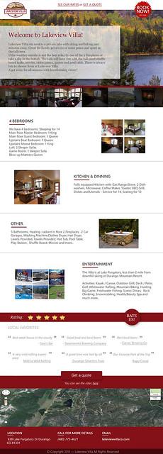 Lake Villa Web Design & Development