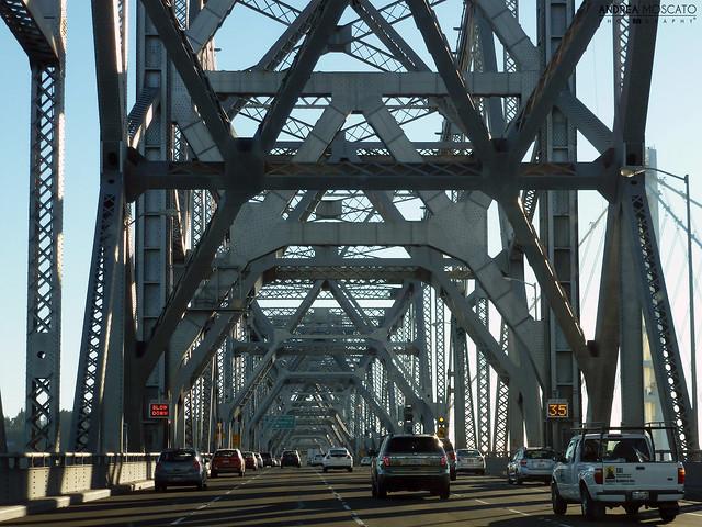 Oakland - San Francisco Bay Bridge, California