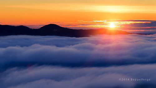 mist lake dawn alba lagodorta nebbie isoladisangiulio beppeverge