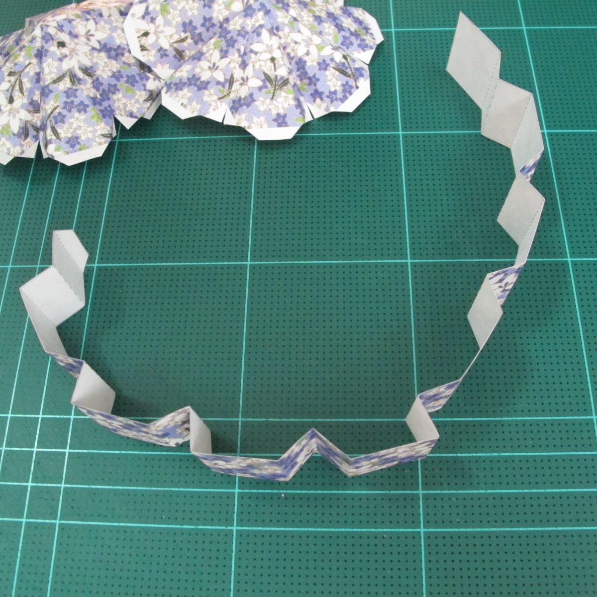 วิธีทำโมเดลกระดาษสำหรับตกแต่งทรงเรขาคณิต (Decor Geometry Papercraft Model) 006