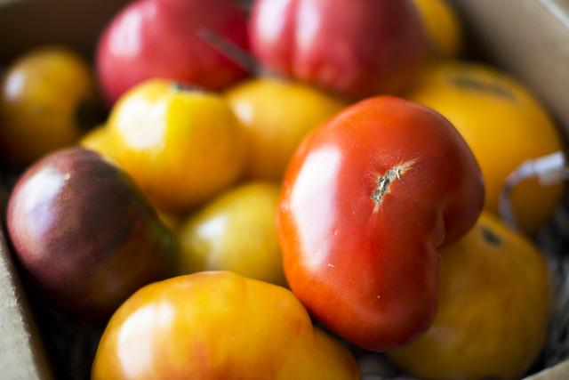 Raindrop Farms - Heirloom Tomatoes