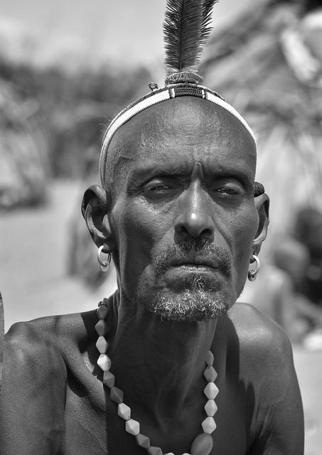 Tribal Elder, Dassanech, Ethiopia