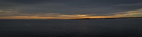 sea panorama seascape ferry panoramic fjord oslofjord oslofjorden stiched bastøyfergen ferryacrosstheoslofjord