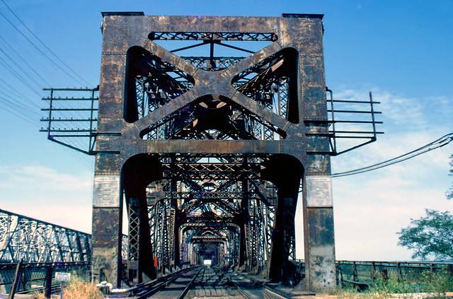 Harahan Bridge At Memphis in 1977