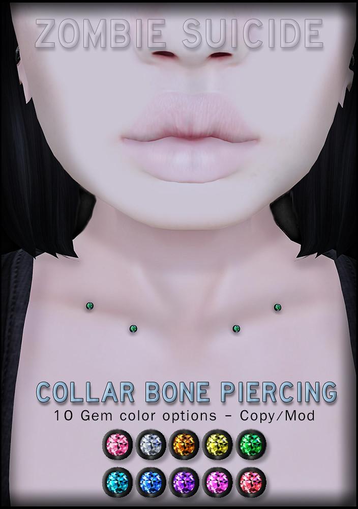 Collar Bone Piercing Suicide Dollz Zombie Suicide Suic Flickr