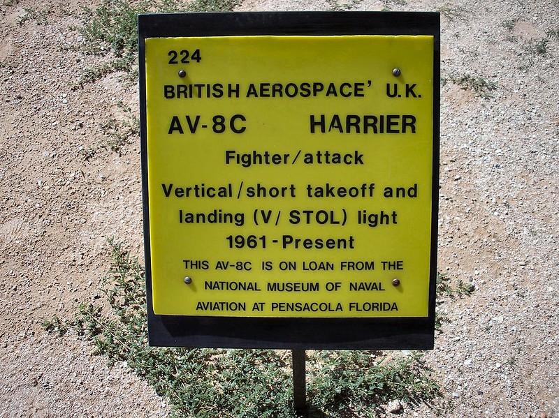 AV-8C Harrier 1